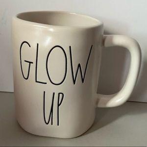 🔥 Rae Dunn GLOW UP Mug Matte Coffee Tea